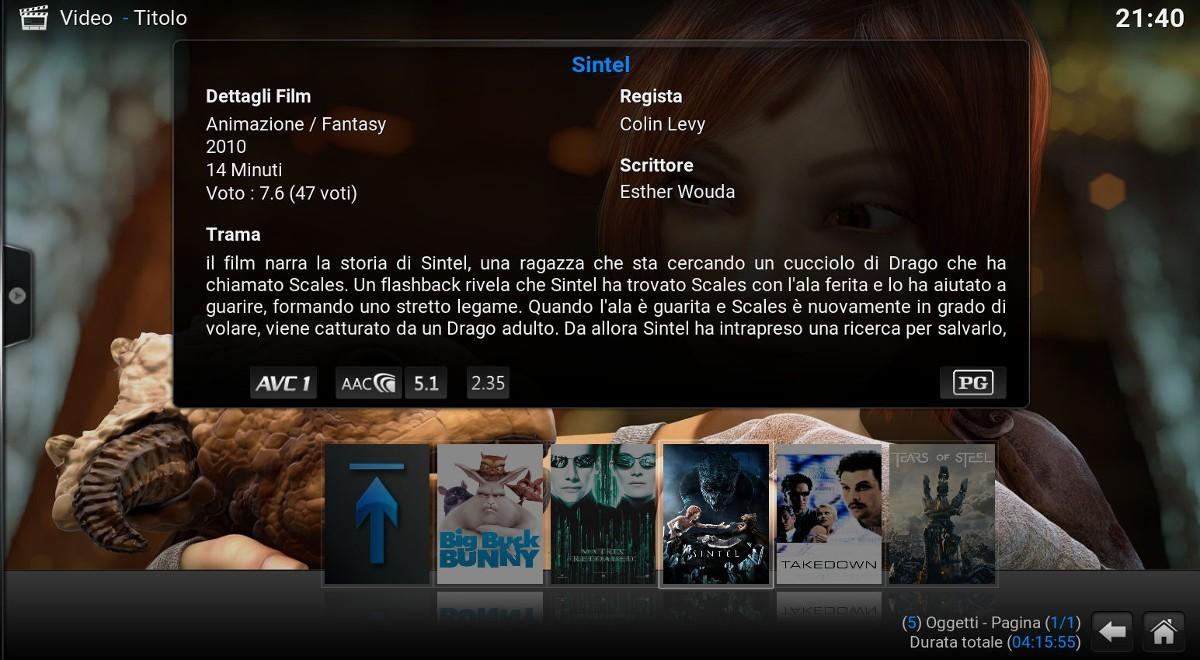 Kodi - Film